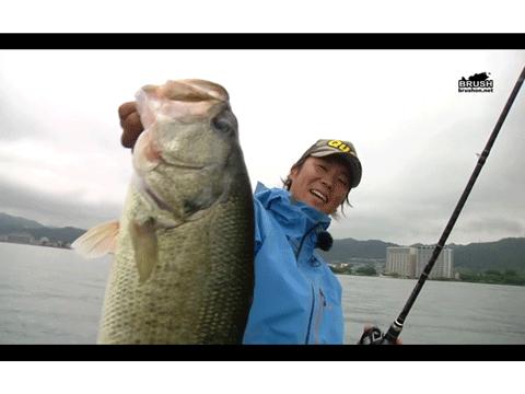 【動画】 グラスタージグでウィードを攻略 in 琵琶湖