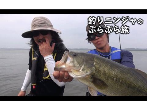 釣りニンジャのぶらぶら旅 八郎潟ガイド編(動画)