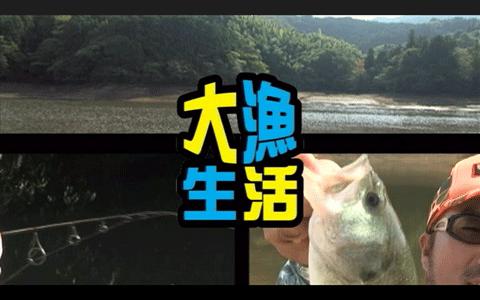 秦拓馬プロが晩秋の野池をオカッパリで攻略(動画)――大漁生活 Vol.79