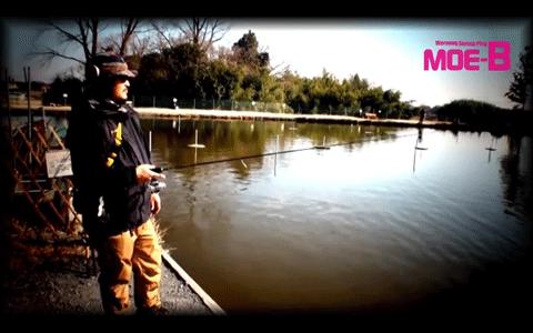 釣りニンジャの気まぐれ釣行 MOE-Bで狙う真冬のバス&トラウト