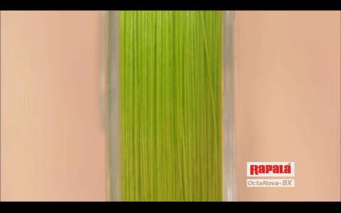 ラパラ 8本編みPEライン「オクタノヴァ 8X」は非常に滑らか!_002