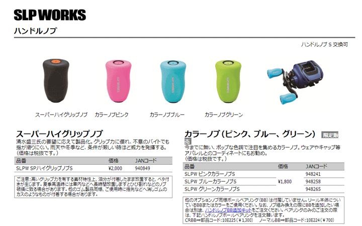 SLP WORKS「スーパーハイグリップノブ」――清水盛三プロ愛用!