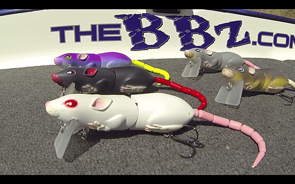 SPRO「BBZ-1 Rat」がカワイイ!ICASTハードルアー部門最優秀作品!