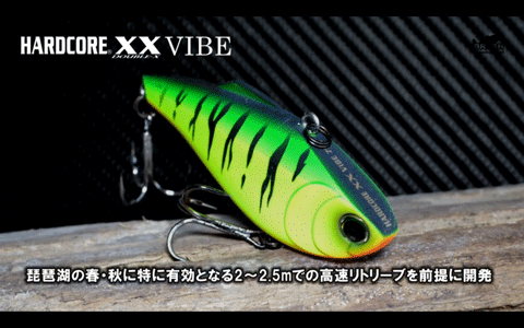 ハードコアXXクランク&バイブをプロスタッフが解説&実釣(動画)_003