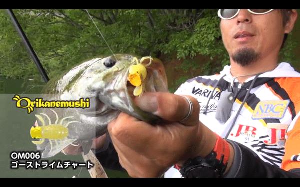 オリカネムシ&コバジンで楽しむ桧原湖サーフェスゲーム(動画)_001
