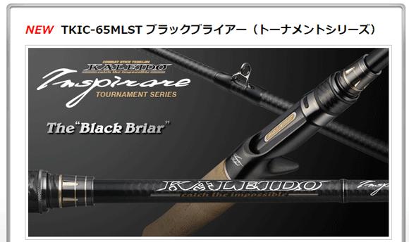 EG「ブラックブライアー TKIC-65MLST」本格派ベイトフィネスロッド
