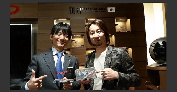 DUO×泉裕文(コアマン) スペシャルな邂逅がここに実現!