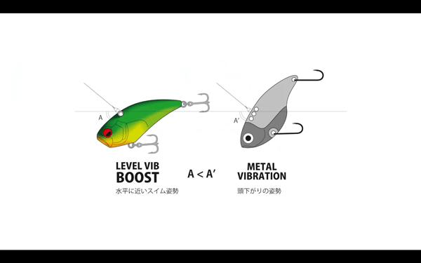 レベルバイブ ブーストの使い方・特徴を金森隆志が動画で解説&実釣002