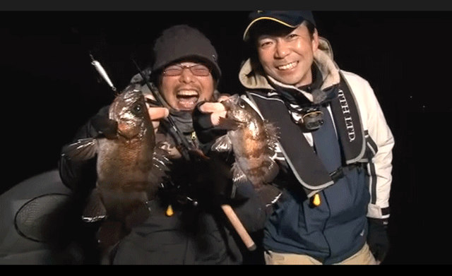 ガンシップ36F&ジェイドS/SWでメバル爆釣!これだけ釣れたら面白い