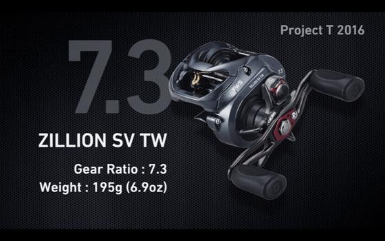 ジリオンSV TW ギア比7.3