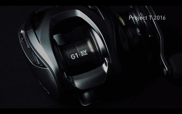 16スティーズSV TWはG1ジュラルミン製スプール採用