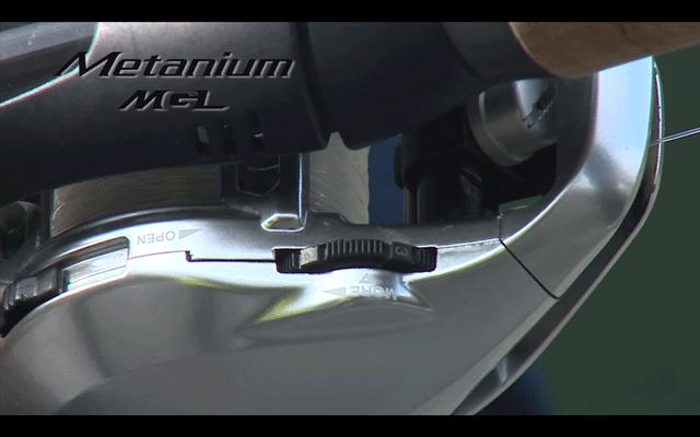 16メタニウムMGLのSVSインフィニティの外部ダイヤル