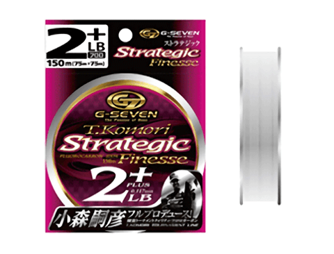 G7 ストラテジックフィネスはライトリグにおすすめのフロロカーボンライン!