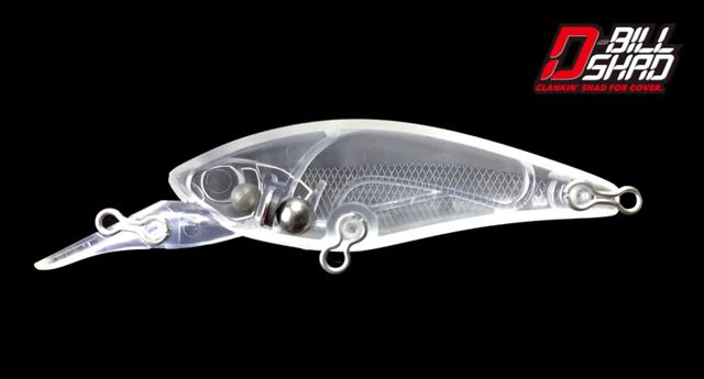 ディービルシャッドはデュアルマグ重心移動システムによって飛距離抜群!