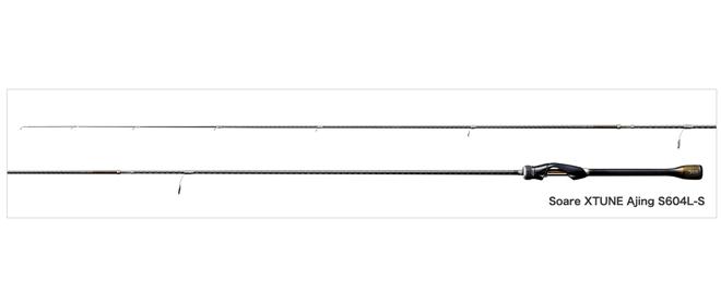 16ソアレエクスチューン アジング 508/604/610デビュー!シマノ最高峰アジングロッド!
