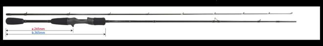 ヤマガブランクス「ブルーカレント71 ベイトモデル」