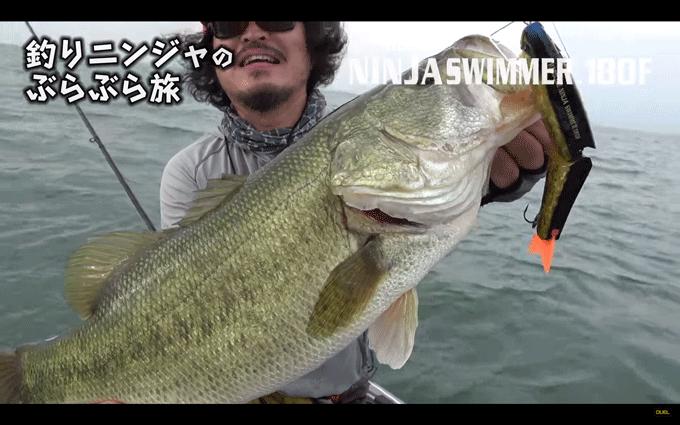 ニンジャのガイドを琵琶湖で体験!ビッグバスも飛び出す釣りニンジャのぶらぶら旅_001